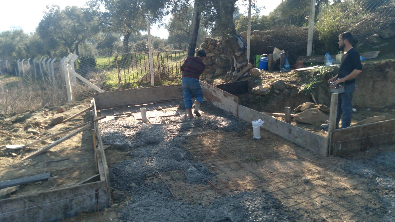 beton döküm